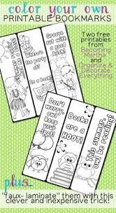 free printable coloring bookmarks free printable coloring