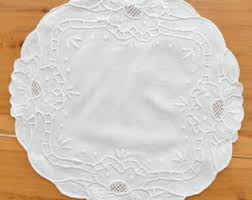 Shabby Chic Placemats by Shabby Chic Linen Etsy