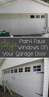 Faux Paint Garage Door - 10 easy ways to upgrade your garage in 1 weekend 1 garage