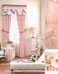 Pink Nursery Curtains Pink Nursery Curtains Without Valance