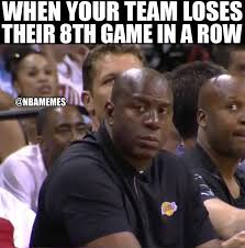 Magic Johnson Meme - nba memes magic johnson right now lakeshow like nba facebook