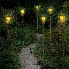 led tiki torch lights partylights
