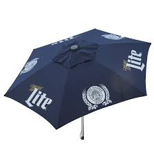Budweiser Patio Umbrella Miller Lite Patio Umbrella The Pub Shoppe