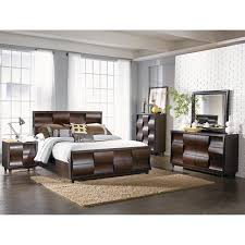 Mirrored Furniture Bedroom Set The Wave Bedroom Bed Dresser U0026 Mirror King B1794 Bedroom
