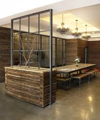 Design Ideas For Office Partition Walls Concept Wood And Metal Wall Divider Open Concept Without Closing Space