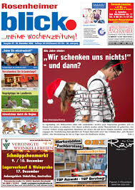 Wetter Bad Feilnbach 14 Tage Rosenheimer Blick Ausgabe 49 2016 By Blickpunkt Verlag Issuu