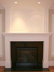 Custom Fireplace Surrounds by Vintage Millwork Corp Of Dracut Massachusetts Creates Custom