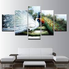 Silk Peacock Home Decor Online Get Cheap Peacock Posters Aliexpress Com Alibaba Group
