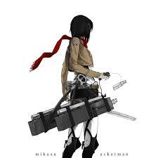 Mikasa by Mikasa Ackerman Attack On Titan Page 18 Of 48 Zerochan Anime