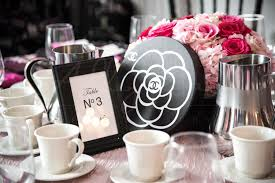 themed bridal shower glam chanel themed bridal shower weddingwire