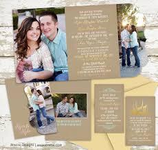 lds wedding invitations lds wedding jeneze designs