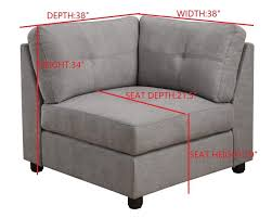 Coaster Sectional Sofa Claude Collection Modular Sectional 551004 Upholstered In Dove