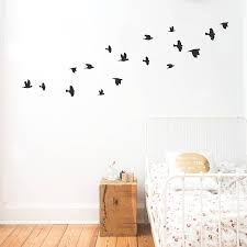 wall sticker birds eulenschnitt notonthehighstreet wall sticker birds