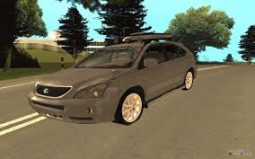 lexus rx400h tuning rx400h 2010 for gta san andreas