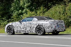 bmw supercar m8 2018 bmw m8 convertible spy shots gtspirit