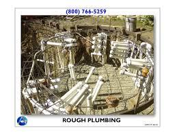 Plumbing Rough by 2 Rough In Plumbing U0026 Electrical Aquatic Mechanical
