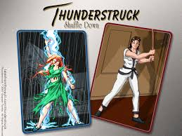 thunderstruck by grayson towler art and extras
