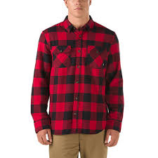 Flannel Shirts Hixon Flannel Shirt Shop Mens Shirts At Vans