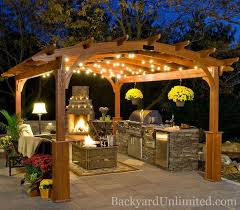 outdoor kitchen lighting ideas 70 awesomely clever ideas for outdoor kitchen designs cowboys