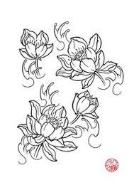 lotus flower drawings for tattoos lotus flower by laranj4 on