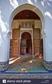 Moorish Architecture Moorish Style Palace Interior Architecture Stock Photo Royalty