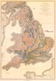 Map Of England And Scotland Geology