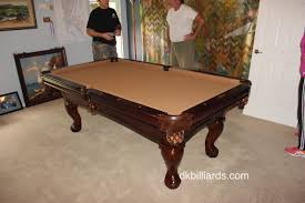 How Much To Refelt A Pool Table by Replacing A Non Slate Pool Table Dk Billiards Pool Table Sales