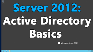 windows server 2012 r2 active directory ad the basics youtube