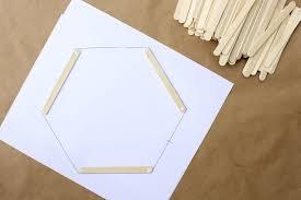 diy wall art hexagon shelf 2 make u0026 do crew