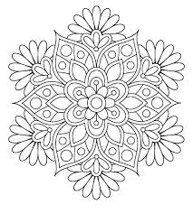 printable coloring pages of pretty flowers cute flower coloring pages spring flowers coloring pages printable