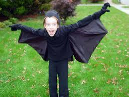 Bat Costume Halloween Threads Snippets Umbrella Bat Costume