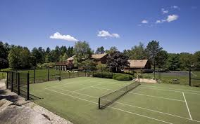 Backyard Tennis Courts 2017 Tennis Court Cost Cost To Resurface A Tennis Court