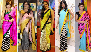 Lehenga Style Saree Draping Experimenting With Different Saree Draping Styles
