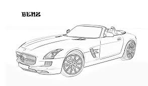 download car printable coloring pages