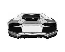 lamborghini drawing exotic car drawing lamborghini aventador tail art postcard