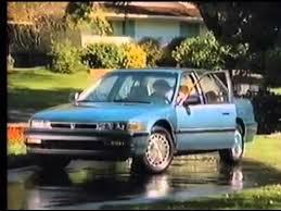honda accord 1990s 1990 commercials honda accord