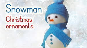 diy christmas crafts snowman christmas ornaments innova crafts