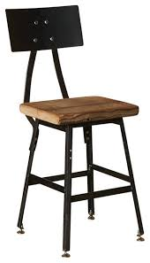 short bar stools houzz