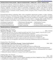 Oil Field Resume Samples Oil Field Consultant Resume Sample Template Resume Templates