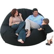 amazon com cozy sack 7 feet bean bag chair x large black