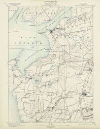 State Of Jefferson Map Old Usgs Topo Maps Of Jefferson County New York
