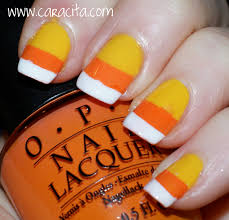 24 candy corn nail designs candy corn halloween nail art totally