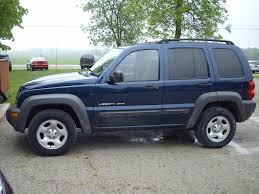 blue jeep 2 door 2003 jeep liberty sport 4wd jeep colors