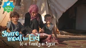 islamic relief usa qurbani 2017 send to a family in syria