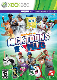 amazon com nicktoons mlb xbox 360 video games