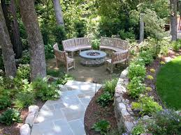 Cheap Garden Design Ideas Backyard Landscape Design Ideas Landscaping On A Budget Syrup
