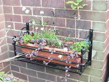 wrought iron planter pots window boxes baskets ebay