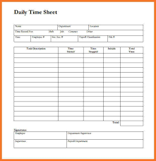 awesome daily timesheet template ideas resume samples u0026 writing
