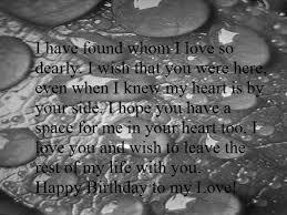 heart touching happy birthday wishes for boyfriend birthday