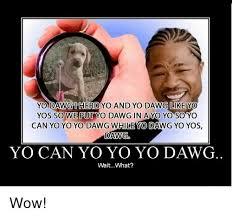 Yo Dog Meme - 25 best memes about yo yo dawg yo yo dawg memes